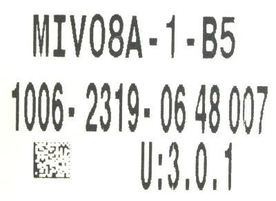 New Refurbished Exchange Repair  Okuma Drives-AC Servo MIV08A-1-B5 Precision Zone