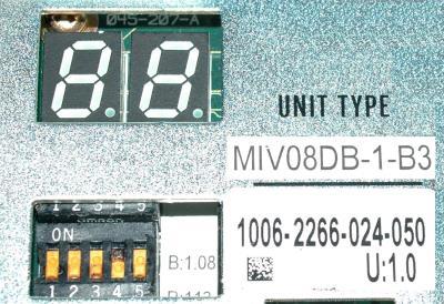 New Refurbished Exchange Repair  Okuma Drives-AC Servo MIV08DB-1-B3 Precision Zone