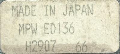 New Refurbished Exchange Repair  Hitachi Seiki Part of machine MPWED136 Precision Zone