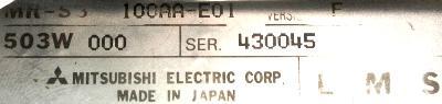 New Refurbished Exchange Repair  Mitsubishi Drives-AC Servo MR-S3-100AA-E01 Precision Zone