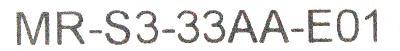 New Refurbished Exchange Repair  Mitsubishi Drives-AC Servo MR-S3-33AA-E01 Precision Zone