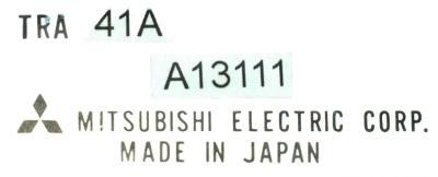New Refurbished Exchange Repair  Mitsubishi Drives-DC Servo TRA41A Precision Zone