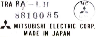 New Refurbished Exchange Repair  Mitsubishi Drives-DC Servo TRA8A-LH Precision Zone