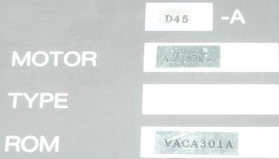New Refurbished Exchange Repair  Okuma Drives-AC Spindle VAC-II D45A Precision Zone